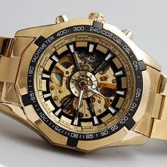 $26.45 (Buy here: https://alitems.com/g/1e8d114494ebda23ff8b16525dc3e8/?i=5&ulp=https%3A%2F%2Fwww.aliexpress.com%2Fitem%2FHot-Sale-Luxury-Golden-Luminous-Automatic-Mechanical-Skeleton-Dial-Stainless-Steel-Band-Wrist-Watch-Men-Women%2F32722925918.html ) Hot Sale Luxury Golden Luminous Automatic Mechanical Skeleton Dial Stainless Steel Band Wrist Watch Men Women Best Gift M106-1 for just $26.45