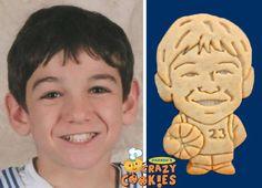 Bar Mitzvah Reception Ideas - Custom Cookies - Basketball - Personalized Favors - Surprises