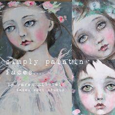 Karen Milstein Painting faces