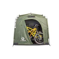 YardStash III 6 ft. 2 in. x 2 ft. 5 in. Heavy Duty Outdoor Storage Tent-YSLH06 - The Home Depot