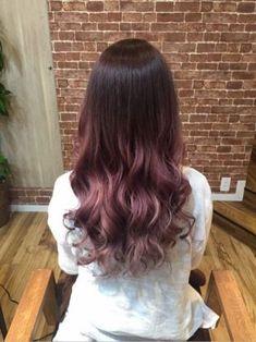 はろろろん今週わ髪染めたりネイルしたり美容DAYだったかなNew Hairピンクグラデーション紫っぽいのも入ってんのかな??グ...|初心者でも簡単無料!ブログを作るなら CROOZ blog
