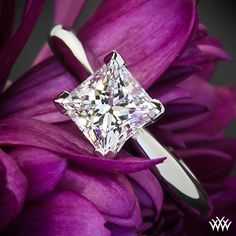 I am in Love with this....Princess Cut Engagement Ring