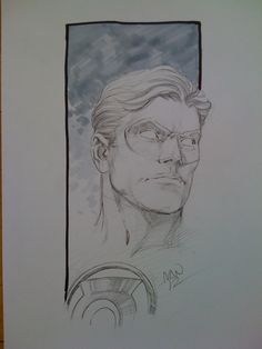 Green Lantern by Ivan Reis Comic Art