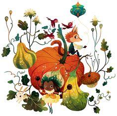 Fundación María José - Sweet Pumpkins Party poster on Behance