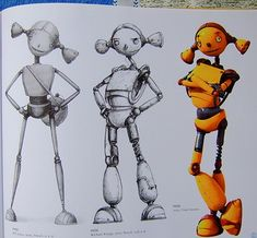 Robots Character design