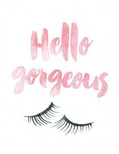 Watercolor Beauty & Confidence Prints crease makeup makeup geek looks lips Applying Eye Makeup, Applying False Eyelashes, False Lashes, Lash Quotes, Makeup Quotes, Eyebrow Quotes, Eyebrows, Evening Makeup, Best Lashes
