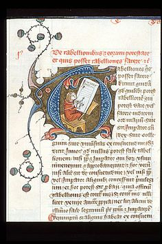 Royal 6 E VII   f. 514   Tabelliones (Notaries)