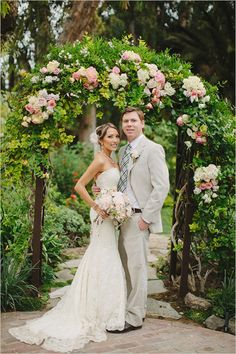 Matthew Morgan Photography did an excellent capturing this glamorous backyard wedding at  McCormick Home Ranch. http://www.weddingchicks.com/2013/10/28/vintage-wedding/