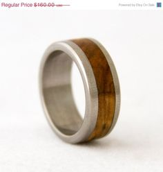 This ring is made of one solid piece of titanium with Bethlehem OLIVE WOOD inlay. The wood is protected with a special coat that makes the ring Custom Wedding Rings, Wedding Ring Bands, Hawaiian Wedding Rings, Antler Ring, Wedding Ideas, Wedding Stuff, Dream Wedding, Fall Wedding, Diy Wedding