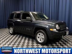 Used 2014 Jeep Patriot Sport for sale at Northwest Motorsport in Puyallup, WA for $9,999. View now on Cars.com. 2014 Jeep Patriot Sport, Puyallup Wa, Dog Car, Cars, Sports, Hs Sports, Autos, Car, Automobile
