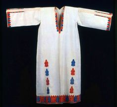 Woman's Dress | The Art Institute of Chicago Greek Traditional Dress, Traditional Outfits, 20s Fashion, Fashion History, Folk Costume, Costumes, India Flint, Asian Fabric, Kimono Design