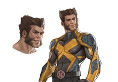Marvel Wolverine, Wolverine Animal, Wolverine Costume, Hq Marvel, Logan Wolverine, Comic Books Art, Comic Art, Book Art, Xman Marvel