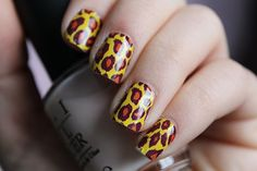 Animal Print Omg Nail Strips