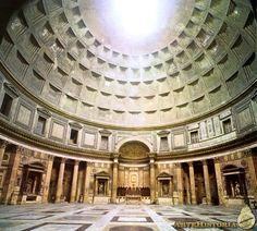 APOLODORO DE DAMASCO. Panteon (Roma). 126 dc