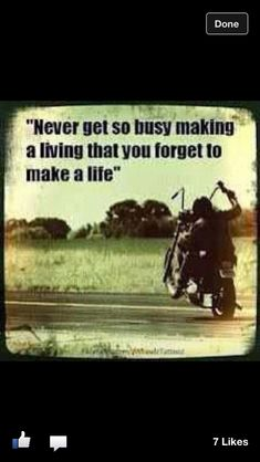 Live to ride!
