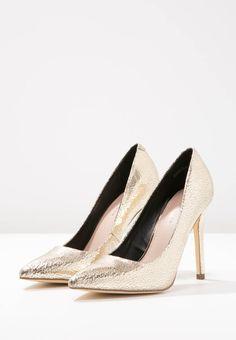 Versace PALAZZO - High Heel Pumps - sahara /oro - Zalando.de | 2 ...