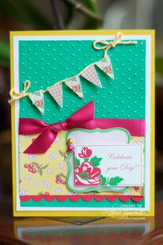 Celebrate you Day Card