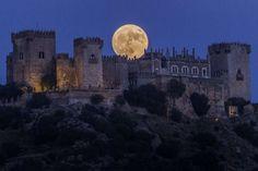 Este es el castillo de Almodóvar, en Córdoba. Grande y roja. - Miguel Morenatti