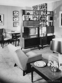 G-Plan living and dining room set 1956