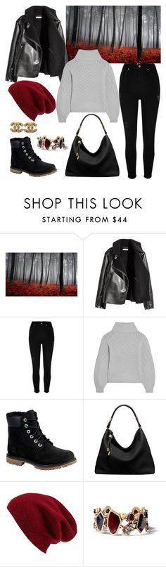 """Gotta Not"" by kathrina1yana2jemma3cloe4 ❤ liked on Polyvore featuring Art for Life, River Island, Iris & Ink, Timberland, Michael Kors, Halogen, Chloe + Isabel and Chanel"