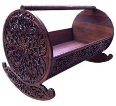 Ottoman cradle and Ottoman cradle Recycled Furniture, Cat Furniture, Furniture Design, Muebles Estilo Art Nouveau, Carriage Bed, Wooden Cradle, Cradle Bedding, Vintage Appliances, Wooden Diy