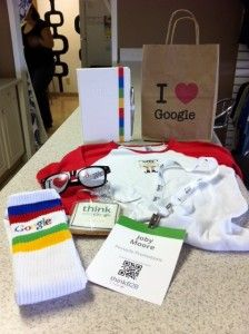 Promotional Products At Google Promo In Action Pinterest Promotion Company Swag And