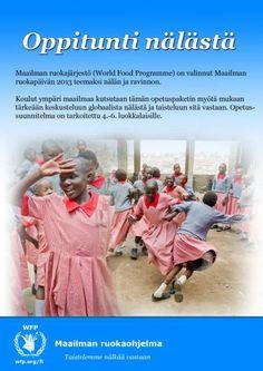 Tervetuloa globaalin nälän oppituntien sivuille!   WFP World Food Programme World Food Programme, Programming, Computer Programming, Coding