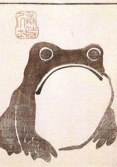 Frog      Frog by Matsumoto Hoji 1814, Japan