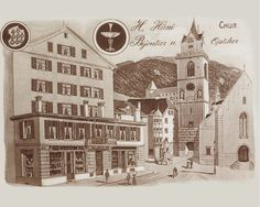 Schon seit ewigen Zeiten wird am Martinsplatz in Chur Schmuck geschmiedet. Emil Zoppi übernahm vor über 80 Jahren das Goldschmiedegeschäft von Heinrich Hüni. www.zoppijuwelier.ch