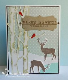 Creative Palette: Walking in a Winter Wonderland