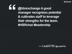"""From """"HBRchat: Leadership Development in the Age of the Algorithm"""" story by HBR Exchange on Storify — http://storify.com/hbrexchange/hbrchat-leadership-development-in-the-age-of-the-a"""