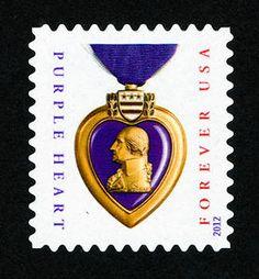Forever Purple Heart Medal single