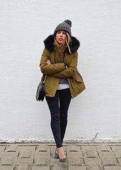 Blonde Mery: Khaki Jacket