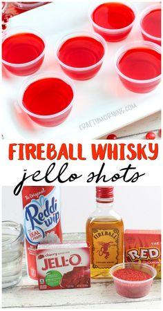 Make some fireball cinnamon whisky jello shots! Red hots Make some fireball cinnamon whisky jello shots! Alcohol Jello Shots, Lemonade Jello Shots, Best Jello Shots, Jello Pudding Shots, Alcohol Drink Recipes, Summer Jello Shots, Fireball Drinks, Fireball Recipes, Jello Shot Recipes