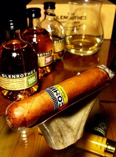 Cohiba and The Glenrothes. Amazing pairing.