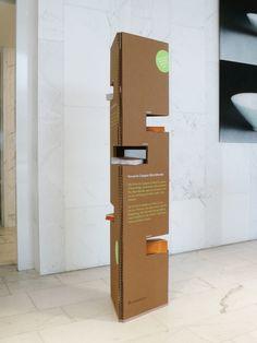 Magazine Display Stand Design for Novartis Campus Basel