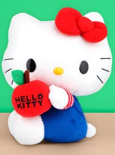 Adorable #HelloKitty promo plush on Sanrio.com Deals page