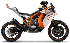 Mais uma mota imaginária da série Motomorphosis. Desta vez a cargo da equipa da M&M... e com base numa KTM RC8.