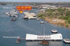 USS Oklahoma Memorial History