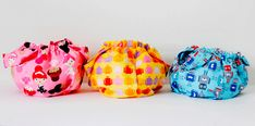 Como hacer bolsas de tela guarda tutti