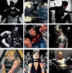 DC Heroes Dark