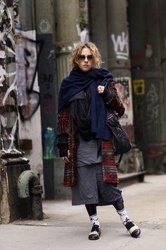 On the Street….Megan on Mercer St., New York « The Sartorialist