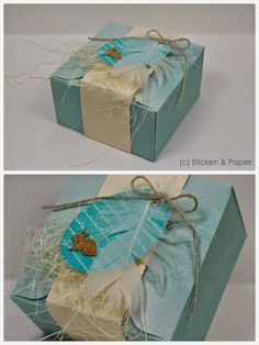 Holidays and events 571323902721457109 Gift Wrap Box, Spring Party, Treat Holder, Pretty Packaging, Craft Box, Holidays And Events, Easter Eggs, Stampin Up, Decorative Boxes