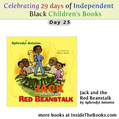 Day 25 of 29 Celebrating Black Children's Books Jack and the Red Beanstalk by Aphrodyi Antoine