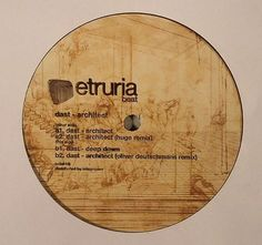 "Dast ‎– Architect 12"" Etruria Beat ‎– etb018"
