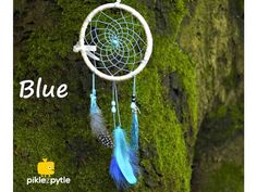 Lapač snů . Kreativní sada pro DIY výrobu lapače snů. Tennis Racket, Dream Catcher, Sad, Blue, Decor, Dreamcatchers, Decoration, Decorating, Dream Catchers