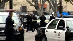 LOS ANGELES -- The three officers who fired their weapons in a videotaped struggle that left a homeless man dead were veterans of the beat on Los Angeles' downtrodden Skid Row who had special training to deal with the homeless and mentally ill, police leaders said.