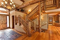 Log Home Interiors And Log Home Interior Design Ideas