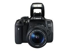 """Canon EOS 750D - Cámara réflex digital de 24.2 Mp (pantalla 3"""", estabilizador óptico, vídeo Full HD), color negro: CANON: Amazon.es: Electrónica"""