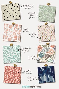 6th Street Design School: Fabric from Minted
